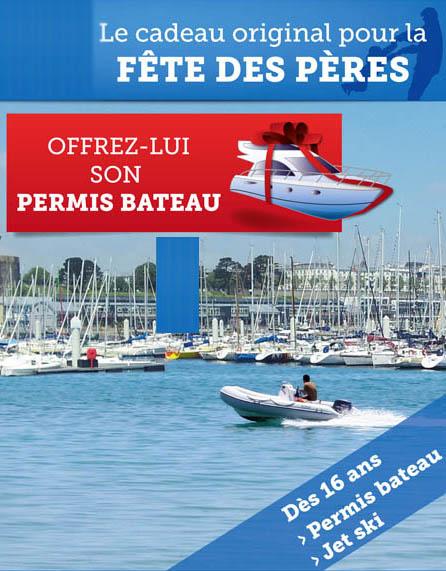 Cadeau original : offrez un permis bateau !