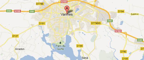 Bateau école à Vannes