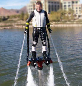 Sport Nautique : une drôle de façon d'aller sur l'eau