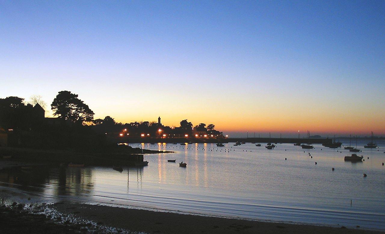 Arzon, port Crouesty sur la presqu'il de Rhyus